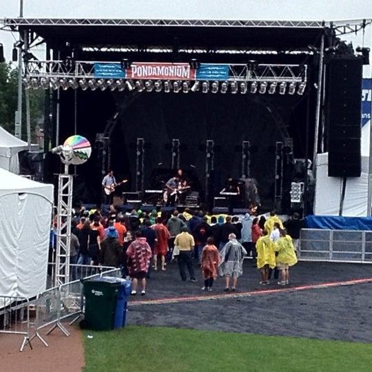 Photo taken at Warner Park by DJ Renton on 8/9/2012