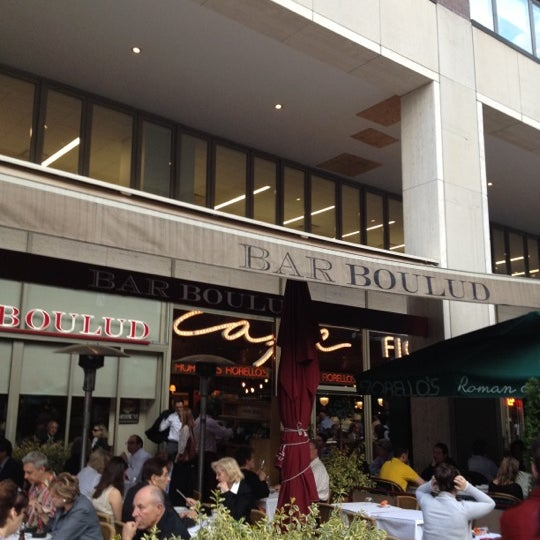 Photo taken at Bar Boulud by Edward T. on 4/17/2012