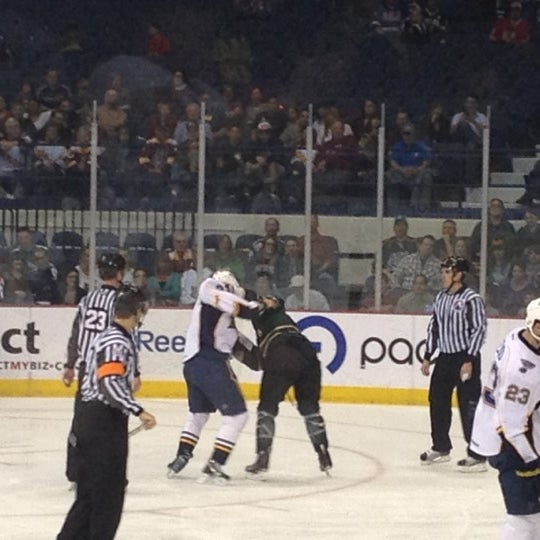 Photo taken at Allstate Arena by Kendall P. on 3/15/2012