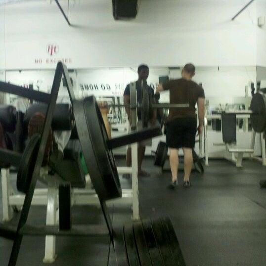 Photo taken at Fit Gym by Sarah B. on 6/25/2012