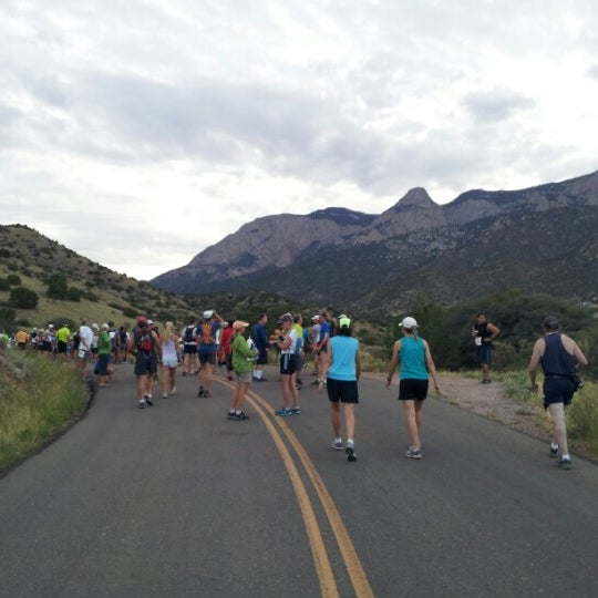 Photo taken at La Luz Trailhead by Terry T. on 8/5/2012