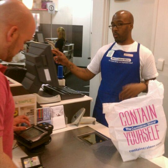 Photo taken at The Container Store by Juan N. on 5/13/2012