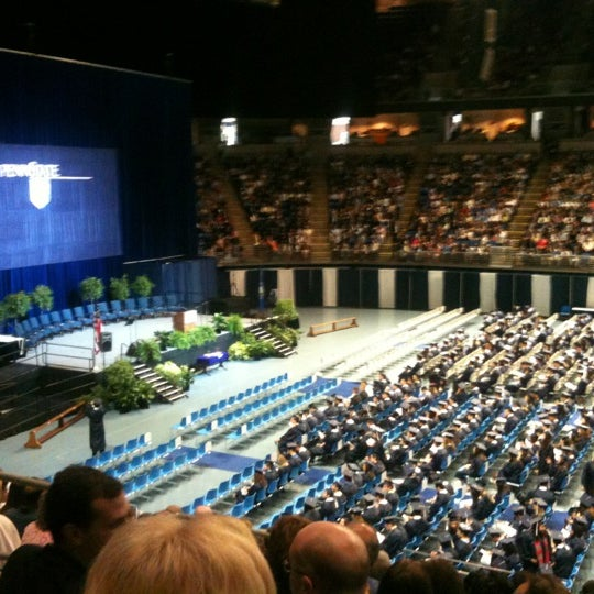 Photo taken at Bryce Jordan Center by Steve G. on 5/6/2012