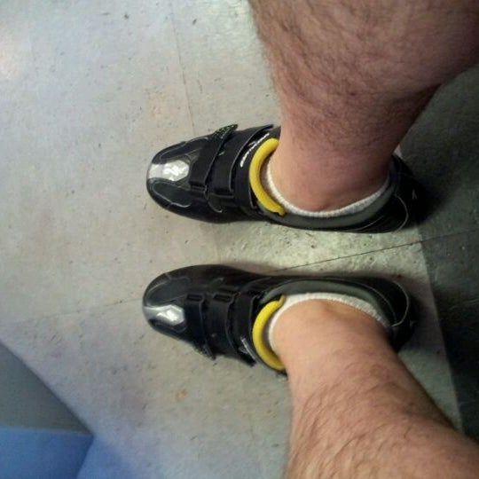Photo taken at Flywheel Sports by Fred W. on 3/30/2012