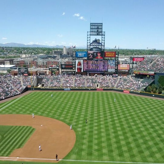 Photo taken at Coors Field by Mike on 5/28/2012