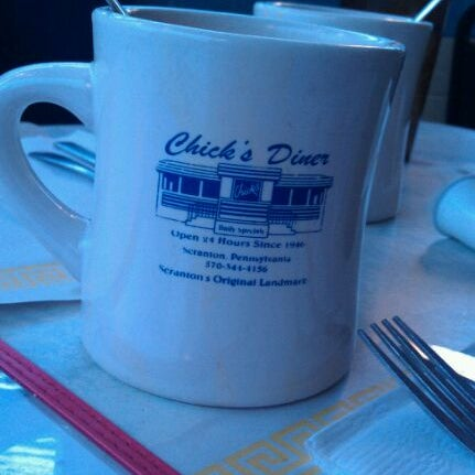 Photo taken at Chick's Diner by Sabrina F. on 2/15/2012