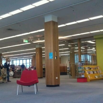Photo taken at State Library Of Tasmania by Steffi T. on 2/28/2012