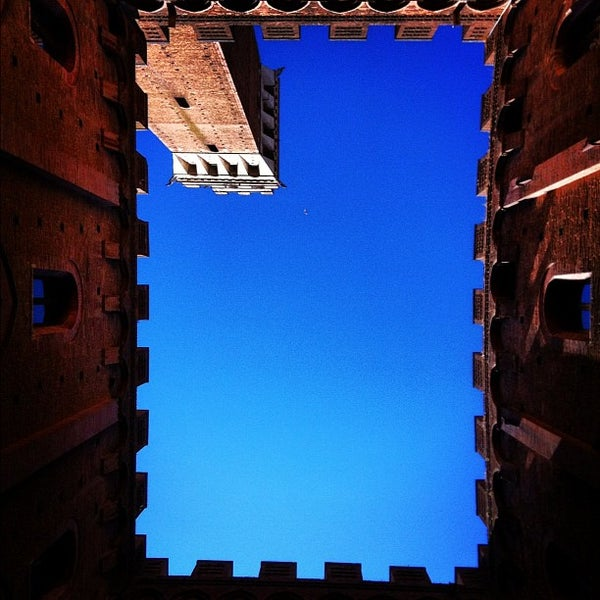 Photo taken at Piazza del Campo by Giovanni B. on 8/4/2012