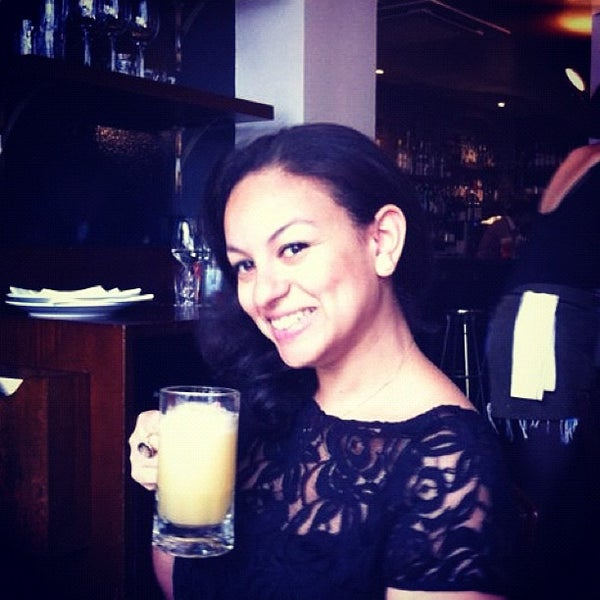 Photo taken at Hawksmoor Spitalfields by Louise on 7/8/2012