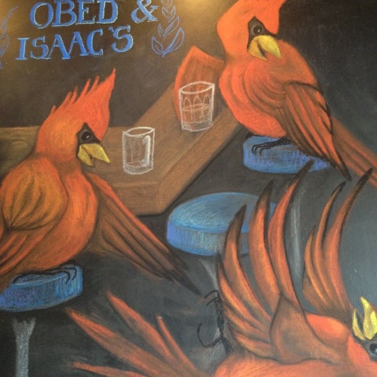 Photo taken at Obed & Isaac's Microbrewery and Eatery by Abbie D. on 6/1/2012