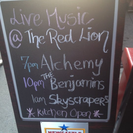 Photo taken at The Red Lion by Megan on 5/31/2012