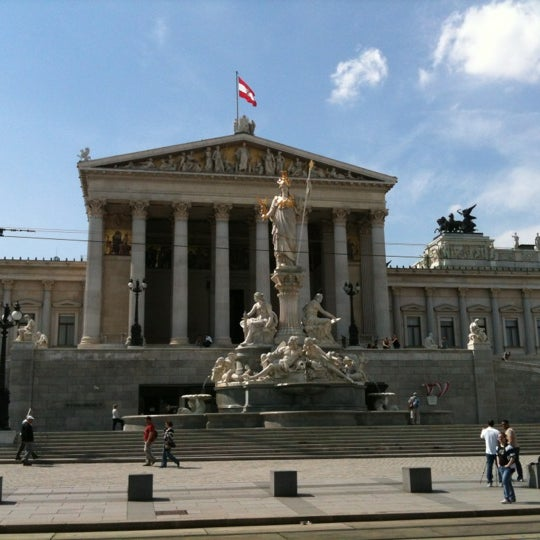Photo taken at Parlament by Raitis on 5/5/2012