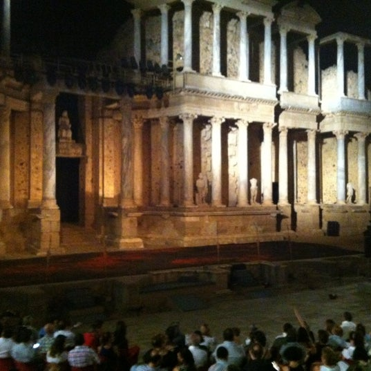Photo taken at Anfiteatro Romano by Diego P. on 8/23/2012