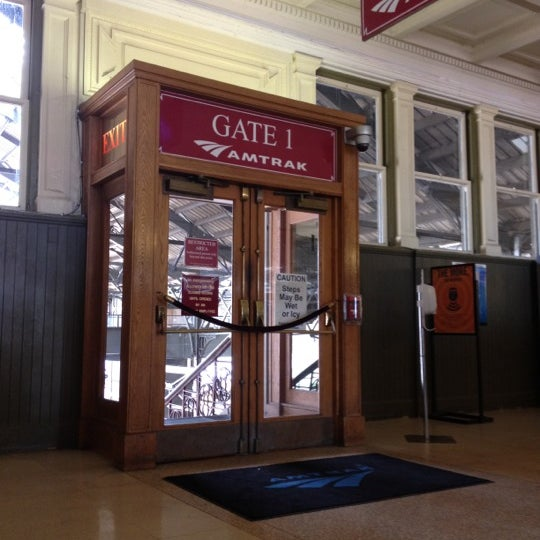 Photo taken at Amtrak: Harrisburg Transportation Center (HAR) by Meg~ on 6/2/2012
