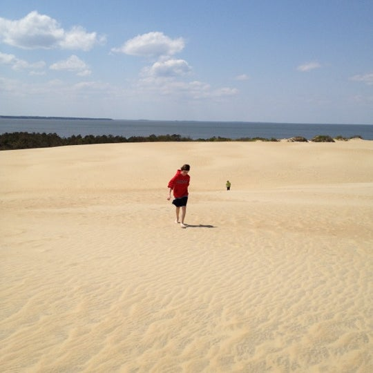 Photo taken at Jockey's Ridge State Park by Tracey L. on 4/11/2012
