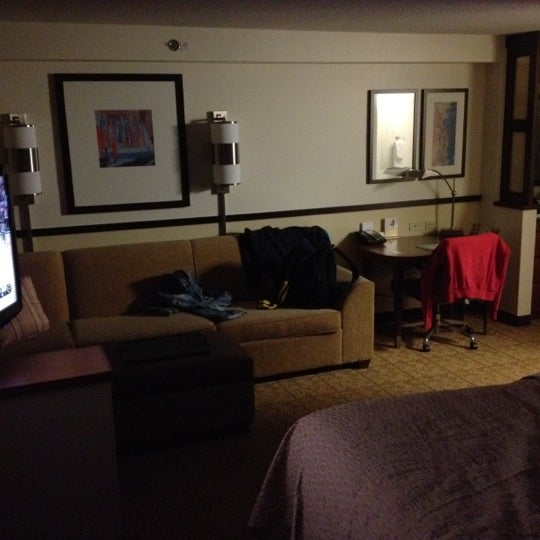 Photo taken at Hyatt Place Madison/Downtown by Shawn S. on 2/17/2012