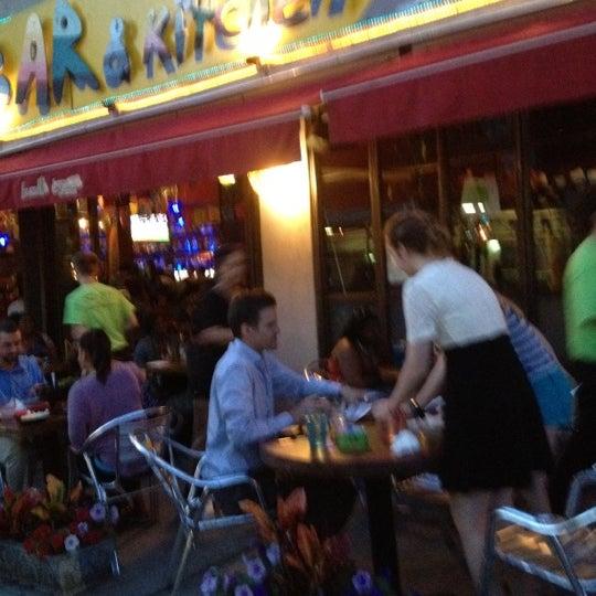Photo taken at Burrito Bar & Kitchen by Lannie L. on 6/9/2012