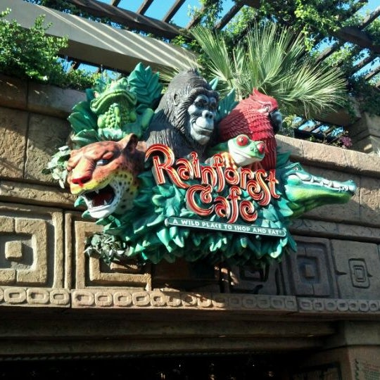Rainforest Cafe Downtown Disney Do I Need Reservations