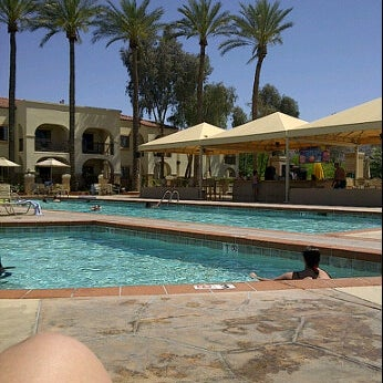 Photo taken at Legacy Golf Resort Poolside by Elizabeth E. on 4/12/2012