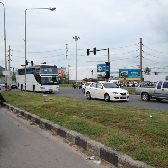 Photo taken at แยกโลตัสภูเก็ต (Lotus Intersection) by Dakanda T. on 2/29/2012