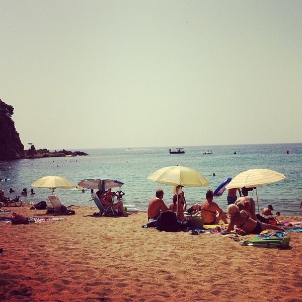 Photo taken at Cala Canyelles by Andrey S. on 8/28/2012