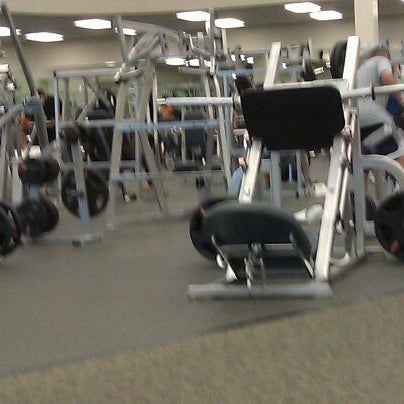 Photo taken at LA Fitness by Manish P. on 5/10/2012