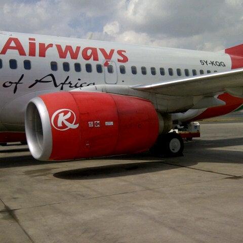 Photo taken at Jomo Kenyatta International Airport (NBO) by Edwin K. on 9/1/2012