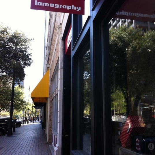 Photo taken at Lomography Gallery Store Austin by neo23 on 3/11/2012