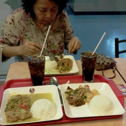 Photo taken at KFC by Dacha S. on 2/18/2012