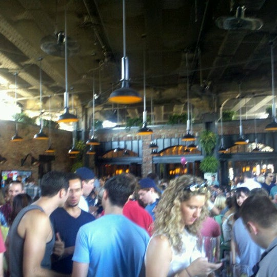 Photo taken at The Biergarten at The Standard by Luis S. on 6/16/2012