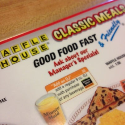 Photo taken at Waffle House by Jennifer R. on 7/22/2012