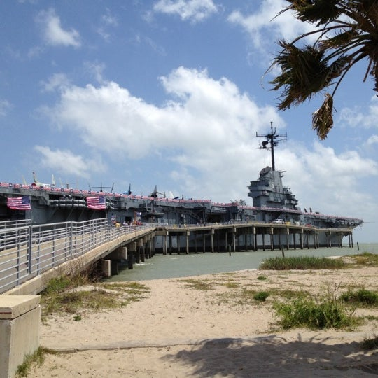 Photo taken at USS Lexington Museum On The Bay by Andrew C. on 4/28/2012