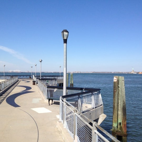 Photo taken at Louis Valentino, Jr. Park & Pier by Bryan B. on 4/4/2012