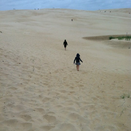 Photo taken at Jockey's Ridge State Park by Brian J. on 6/14/2012