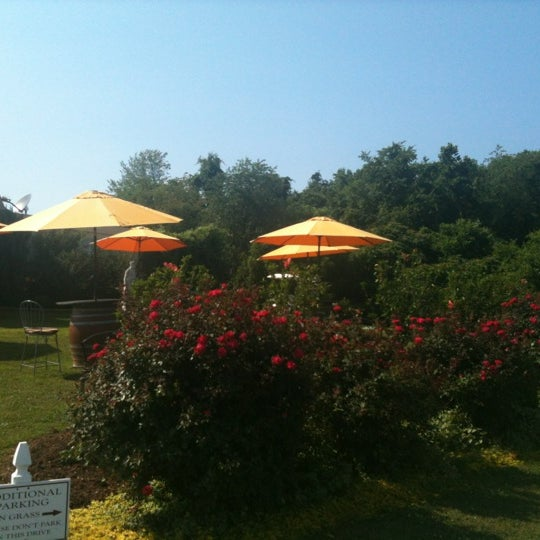Photo taken at Three Fox Vineyards by Allison J. on 7/1/2012