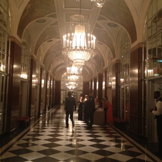 Photo taken at Waldorf Astoria New York by Buford B. on 4/29/2012