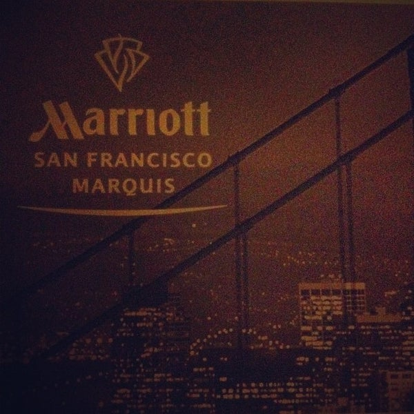 Photo taken at San Francisco Marriott Marquis by Benjamin J. on 7/18/2012