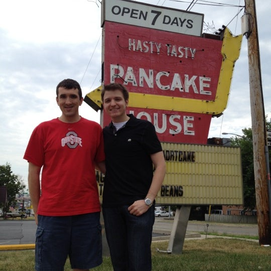 Photo taken at Bunnies Hasty Tasty Pancake House by Brandon S. on 7/23/2012