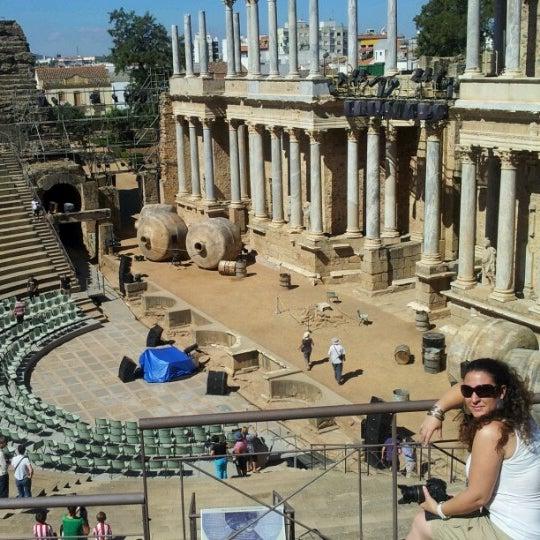 Photo taken at Anfiteatro Romano by Clara S. on 8/16/2012