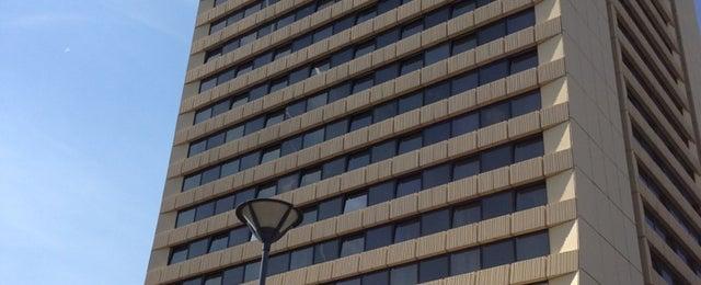 Photo taken at Panorama Hotel Prague by Melis D. on 6/13/2013