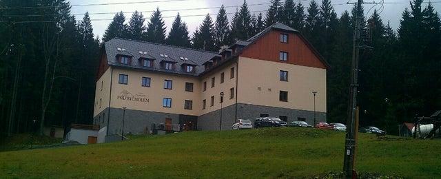 Photo taken at Wellness Hotel Pod Kyčmolem by Honza K. on 11/6/2013