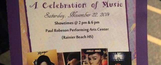 Photo taken at Rainier Beach High School by Taj on 11/22/2014
