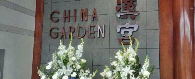 Photo taken at China Garden by David B. on 6/30/2013