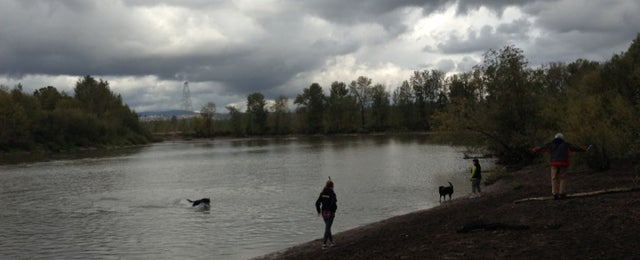 Photo taken at Thousand Acres Dog Park by Corey K. on 10/21/2012