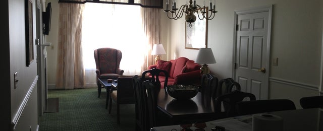 Photo taken at Jamestown Commons @ Marriott' Manor Club by Curtis M. on 4/14/2013