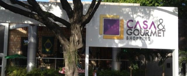 Photo taken at Casa & Gourmet Shopping by Cristina H. on 10/16/2012