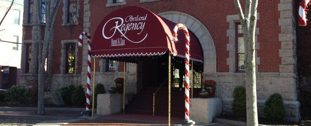 Photo taken at Portland Regency Hotel & Spa by Eric A. on 11/23/2013