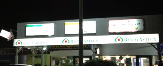 Photo taken at Banco Azteca  Baz Los Pueblos by Karolin A. on 1/17/2012