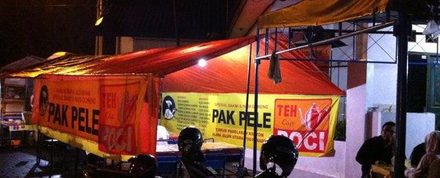 Photo taken at Bakmi Pak Pele by dowi on 12/16/2012