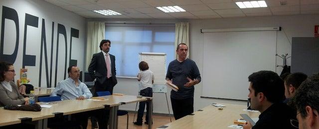 Photo taken at Vivero de Empresas de San Blas. Madrid Emprende by Emilio M. on 10/24/2013
